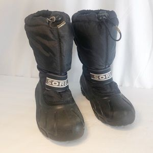 Sorel Winter Boots Waterproof Black 5